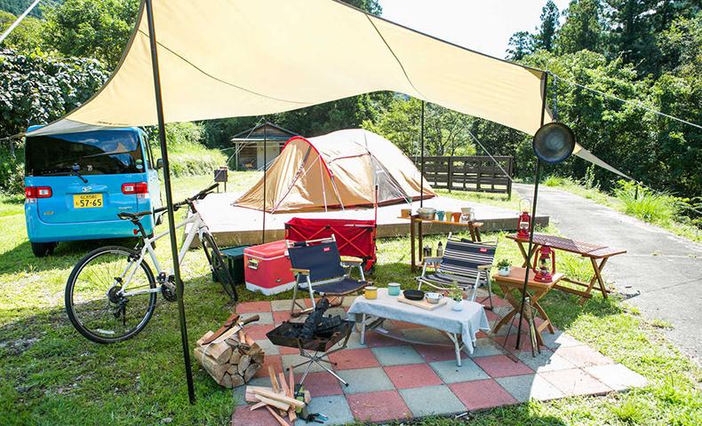奥伊勢フォレストピア キャンプ