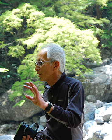 大杉谷ガイド・森さん