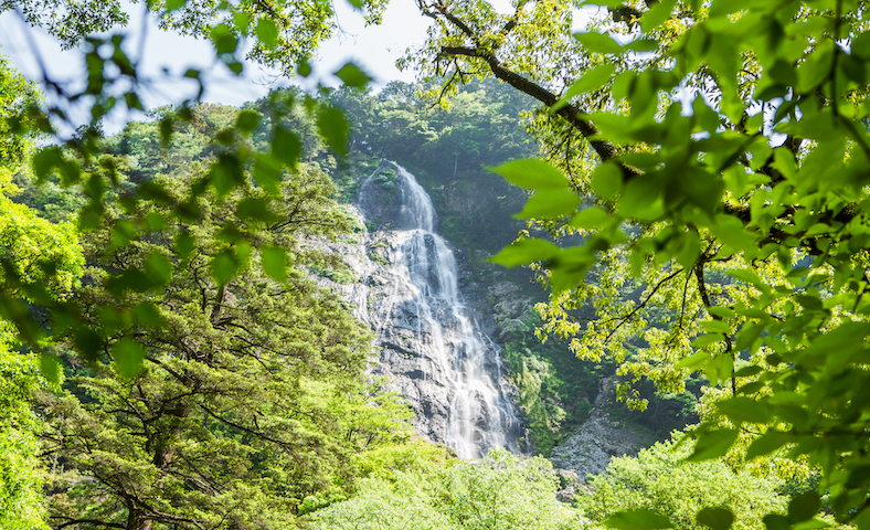 天空の滝とも呼ばれる千尋滝