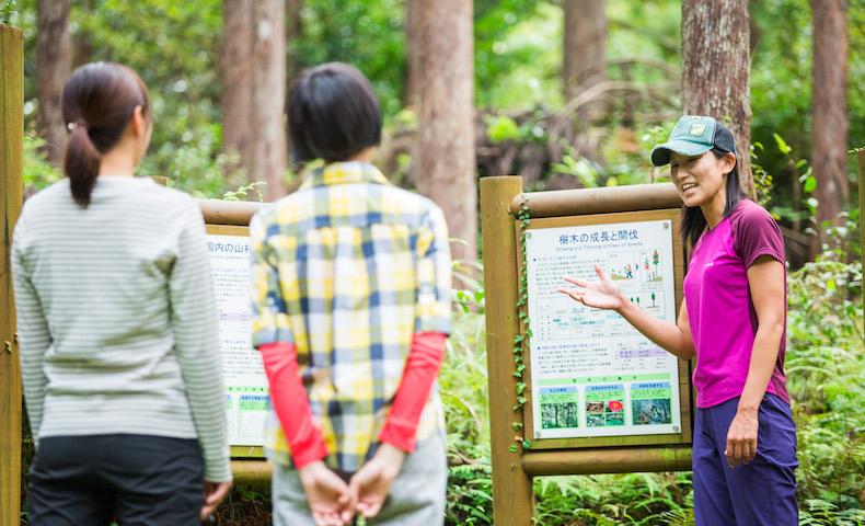 トヨタの森でSDGsな学びを